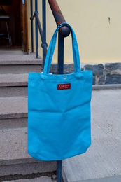 Tote Bag -Mother, Turquoise