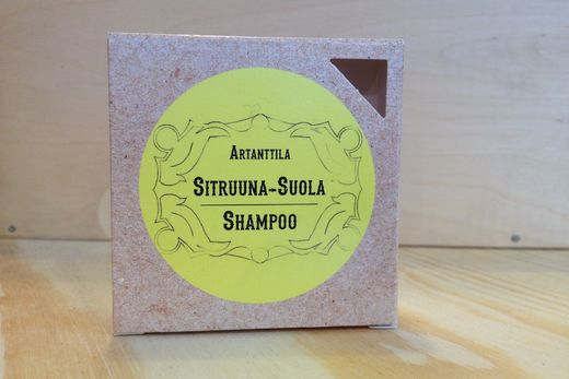 Artanttila Lemon Salt Shampoo Bar