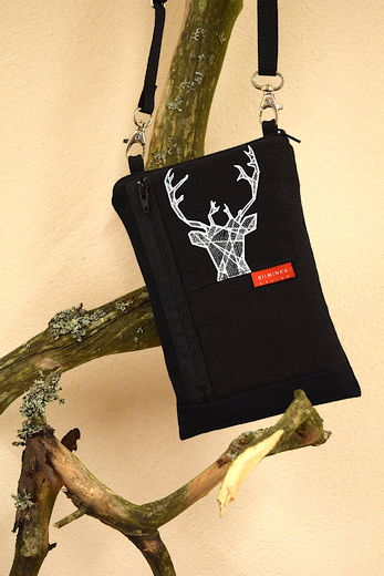 Riiminka Big Sini Mobile Phone Bag Reindeer