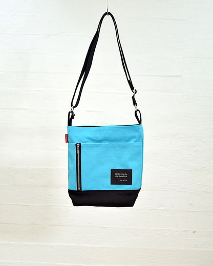 Small Story bag, turquoise