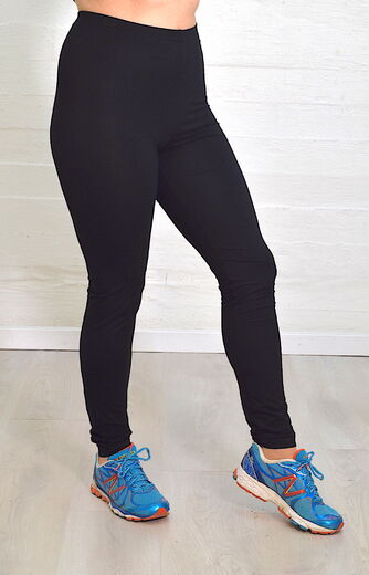 Riiminka Black Leggings
