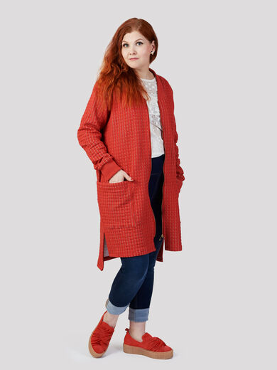 Hertta jacket XXL, red