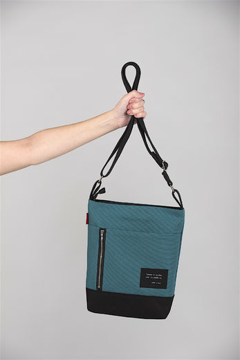 Riiminka Small Story bag, petrol